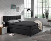Home Care Jersey Topper - Hoeslaken - 190/200x200/220 - Antraciet