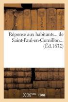 R�ponse Aux Habitants de Saint-Paul-En-Cornillon