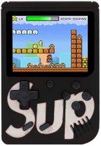 Afbeelding van Portable Retro Game Console met 400 Games | Retro Classic Mini Game 1 of 2 Spelers | Draagbare Handheld Game Box 400 Games | Zwart