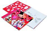 Minnie Mouse Sjablonen Knutselboek
