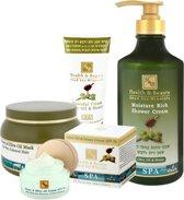 Olive oil & Honey - Face - Body - Hair - Set of 4