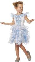 Prinsessenjurk blauw voor kind maat 140