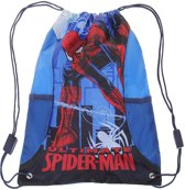 Spiderman-Gymtas-blauw