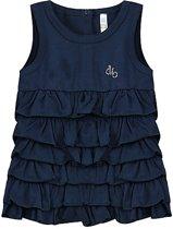 Ducky Beau donkerblauwe jurk maat 80