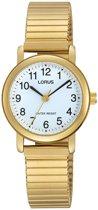Lorus RRS78VX9 horloge dames - goud - edelstaal doubl�