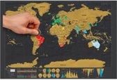 Scratch Map / Scratchmap (wereldkraskaart) - Houd je mooiste reizen en avonturen stijlvol bij