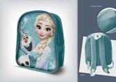 Disney Frozen - Elsa & Olaf - Rugzak - Satin turquoise - Afmeting: 23 x 10 x 29 cm