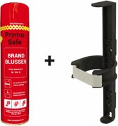 Prymosafe, Universele spray-blusser, inhoud 760 ml, 1 Brandblusser voor alle meest voorkomende beginnende branden inclusief cliphouder.