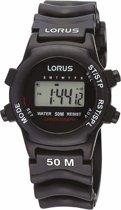 Lorus R2365AX9 - Horloge - Kunststof - 30 mm - Zwart