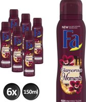 Fa Deodorant Deospray Glamorous Moments Voordeelverpakking 6 x 150ml