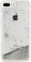 Xccess Liquid Glitter 2-in-1 Case Apple iPhone 6 Plus/6S Plus/7 Plus Transparant/Silver Glitter