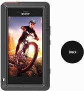 Metalen fullbody hoes voor Sony Xperia XZ1 Compact, Love Mei, metalen extreme protection case, zwart