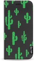 Casetastic Wallet Case Black Samsung Galaxy J3 (2017) - American Cactus Green