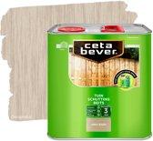 Cetabever Tuin Schutting Beits - Grey Wash - 2,5 liter