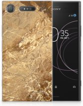 Sony Xperia XZ1 TPU Hoesje Design Marmer