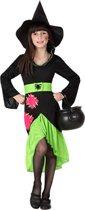 """""""Groene heksen kostuum voor meisjes - Verkleedkleding - 122/128"""""""