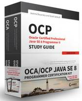 Oca/Ocp Java Se 8 Programmer Certification Kit