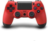 Playstation 4 wireless controller dualshock 4, rood. Incl camouflagecover
