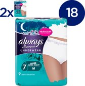 ALWAYS DISCREET INCO PANTS 7 DROPS M SP X9