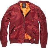 Vintage Industries Welder jacket burgundy