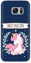 Galaxy S7 Hoesje Sweet Unicorn