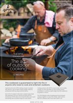 kookboek: The Ofyr Cookbook - The art of outdoor cooking - 72 recipes