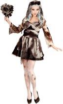 """""""Zwarte bruid Halloween kostuum voor vrouwen  - Verkleedkleding - Large"""""""