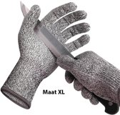 Snijbestendige Handschoenen – Cut Resistant Gloves - Anti-Snijhandschoenen - Beschermt Tegen Snijden - Geschikt Voor in de Keuken - Maat XL