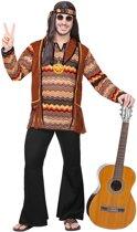 Hippie Kostuum | Psychedelische Golven Hippie | Man | Medium | Carnaval kostuum | Verkleedkleding
