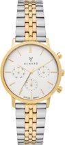 Renard Elite 35.5 Chronograaf horloge  - Zilverkleurig