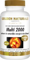 Golden Naturals Multi 2000 - 180 tabletten
