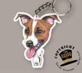 Sleutelhanger Hond Parson Russel Terrier