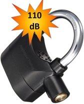 Alarm Hangslot / Padlock / fietsslot met geluidsignaal 110Db Motor Slot Remschijfslot
