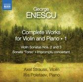 Axel / Ilya Poletaev Strauss - Enescu; Complete Works For Violin &