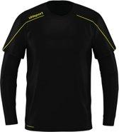 Uhlsport Goalkeeper Shirt Stream 22 SR Zwart/Fluogeel