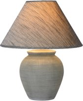 Lucide RAMZI - Tafellamp - E27 - Grijs