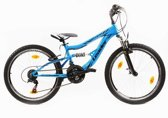 Leader No Limit - Fiets - Jongens - Blauw - 24 Inch