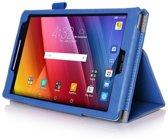 Javu - Asus ZenPad 8 (Z380M) Hoes - Handige Luxe Book Cover Blauw