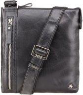 Visconti Merlin leather Taylor Messenger Bag - ML25bk