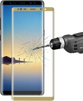 Let op type!! ENKAY Hat-Prins voor Galaxy Note 8 0 26 mm 9H oppervlaktehardheid 3D Explosieveilig volledig scherm gebogen gehard glas scherm Film(Gold)