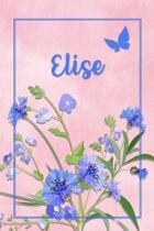 Elise: Personalized Journal with Her German Name (Mein Tagebuch)