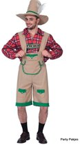Compleet Tiroler kostuum - Oktoberfest kleding heren - onesize (M-L)