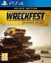 Cover van de game Wreckfest: Deluxe Edition PS4