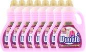 Woolite Wasmiddel Wol & Zijde Met Keratine 8 x 2L - voordeelverpakking