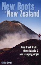 Omslag van 'New Boots in New Zealand: Nine great walks, three islands and one tramping virgin'
