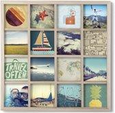 Umbra Gridart Fotolijst - 16 foto's - 43.2x43.2cm - naturel