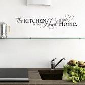 Muursticker tekst 'Kitchen' 15x66