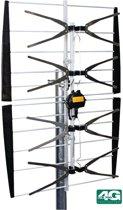 DVB-T/T2 Outdoor Amplified Antenna 13 dB UHF