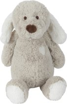 Tiamo Collection Beige Fluffy Hond - 30cm
