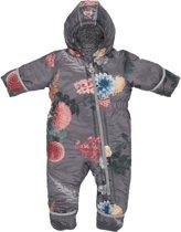 Lodger Baby Skipak - Skier Botanimal  - Donkergrijs - 80 - 12-18 mnd